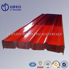 painted steel roofing