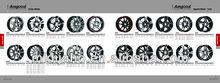 Aluminum Alloy Wheel Rims for BMW,Mercedes Benz,VW,Porsche,Audi,Dodge,Ford,Honda,Nissan,Toyota,Kreisler,Buick,Ferrari,Fiat,