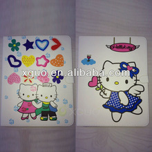 Lovely hello kitty case for ipad 2 3 4