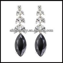 hot sale earrings fashion dangle nice zircon earrings for girls