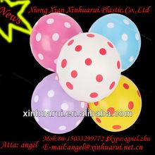 Advertising balloon ! Dot printed baloon
