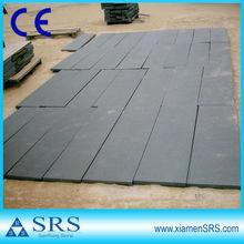 G684 con chorro de arena negro granito exterior piso azulejo