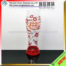 Beautifully Elegant Hand Painted Drinking Glass