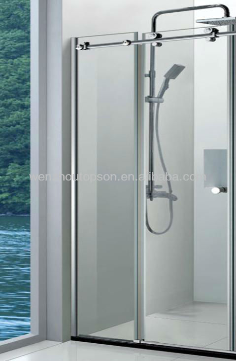 Home Product Categories Shower Door Wall To Wall Frameless Gla