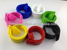 USB wrist band/silicone USB bracelet watch 4GB Bulk cheap