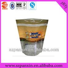 Customised biodegradable fashion bag zipper flower