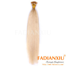 White i-tip hair extensions,100% raw virgin huma hair,natrual straight wave,any colors available,wholsale