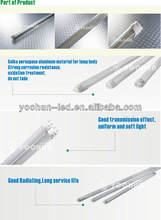 New office 2835SMD t8 4ft led tube light with 2 years warranty