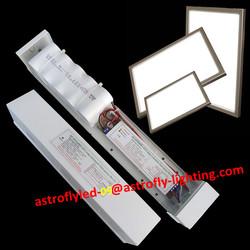 cool white 6500k 18w panel LED recharagble emergency light led driver