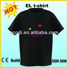 Popular new style El panel tshirt ,el panel t-shirt ,el music shirt