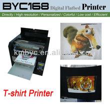 popular design summer t shirt printing machine