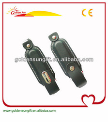 Hot Selling Customized Leather USB Flash Drive 500GB