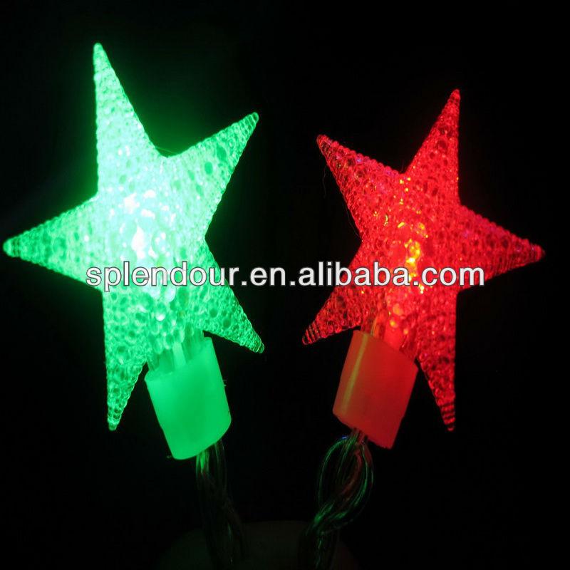 LED star shaped string light /LED copper wire string light/LED color changing light/LED holiday  ...