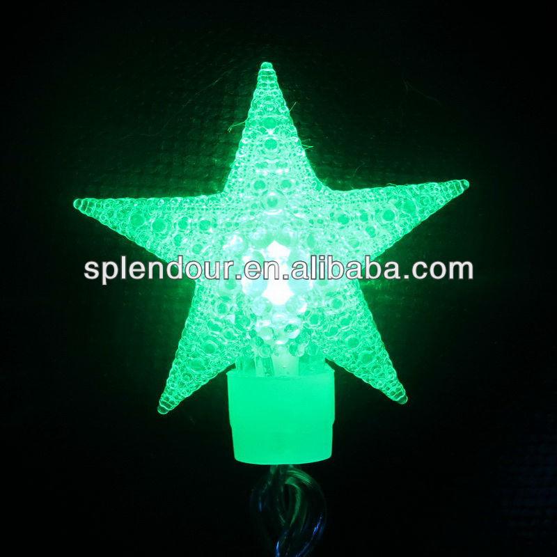 LED star shaped string light /LED copper wire string light/LED color changing light