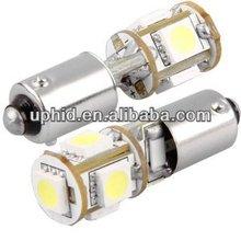 OBC Error Free BA9s 64132 H6W LED Bulbs with built-in load resistors for Audi, BMW, Mercedes-Benz, Porsche, Volkswagen, etc