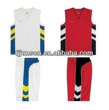 European basketball uniform design