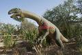 El parque temático de la vida- tamaño de dinosaurio robótico moldes