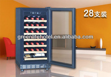 28 Bottles Electrical Wine Cooler,for red wine,grape wine,CE,CB