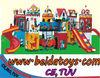 fiber glass playground castle BD-A5092