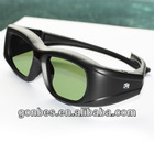 clip on active Bluetooth 3d glasses for TCL