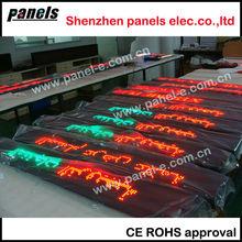 Three color bus/train/metro led panels,RS232 led display