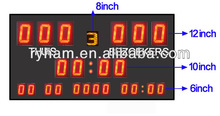 customized multi sports and clubs led outdoor indoor sport scoreboard