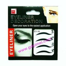 New eyeliner with eyeshadow Tattoos&creative design eyeliner strips