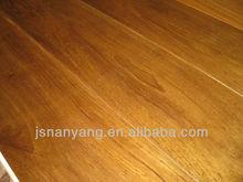 unfinished solid teak flooring