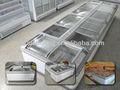 スーパーマーケットの冷凍庫( 1.9メートル、 2.1m、 2.5メートル)