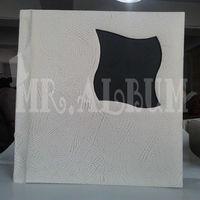 wooden wedding photo album covers