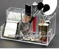 Organizador de cosméticos de maquillaje multi- el uso de la caja de presentación clara de acrílico caso del gabinete conjunto l