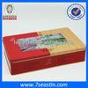 rectangle tin plate decorative metal box