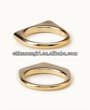 Fashion Pointed Geo Ring Set