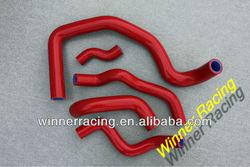 Red Radiator silicone hose for Honda CB400 NC23E VTEC I/II/III 1998-2007