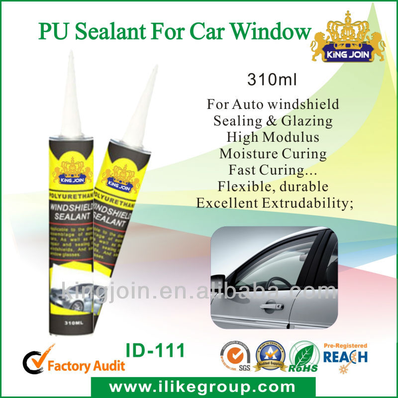 one component polyurethane sealant for automobile windscreen