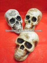 2013 best-selling artificial foam resin halloween skull