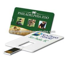 advertising specialty gift card usb flash drive 1gb/2gb/4gb/8gb
