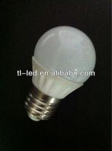 COB Ceramic Radiating E27 3X1W high power LED bulb