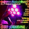 Iris platinum red blue uv ir led grow light 300 watt, 660nm 450nm blue led grow light, diode led 2w/3w led grow light