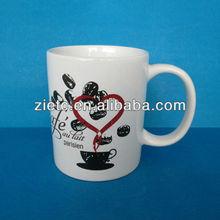 wholesale ceramic and porcelain mug for promotion with customized logo