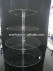 4 tiers acrylic wedding cake stand