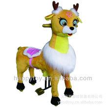HI CE Lovely animal Cat mechanical horse