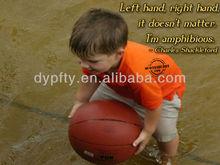 3# kid playing Rubber Basketball