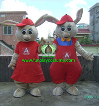 HI EN71 Funny Easter Rabbit Costumes For Kids