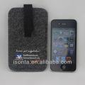 Poliéster/de fieltro de lana cubiertas del teléfono móvil para samsung galaxy s5360 de y