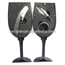 3-Piece wine presents,wine kit and accessories,wholesale wine accessories,rolha