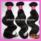 Shine hair indian virgin temple hair for weave