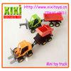9.5Cm Hot Sale Cheap Kids Wind Up Plastic Dump Truck Toy