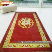 Fashionable Flower design 100% wool handmade rugs