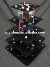 customizing acrylic cake pops display stand,acrylic cake display shelf